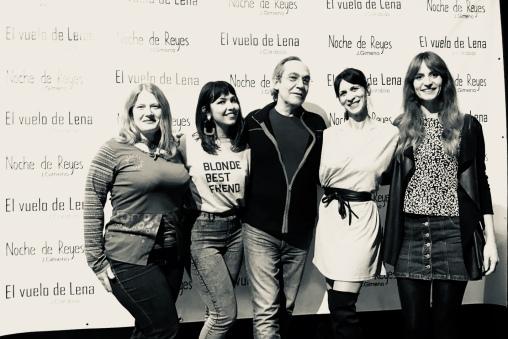 Lourdes Liñán, Katherine Gutiérrez, José Ramón Solsona, Mónica Callejo y Marta Delgado