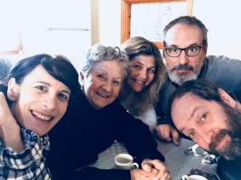 Mónica Callejo, Itziar Aizpuru, Irene Tudela, Francesç Garrido y Josean Bengoetxea