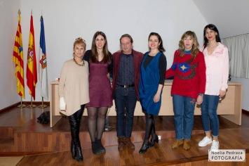 Leonor Bruna, Ana Asión, Jesús Marco, Carmen Gutiérrez, Sadie Duarte y Mónica Callejo