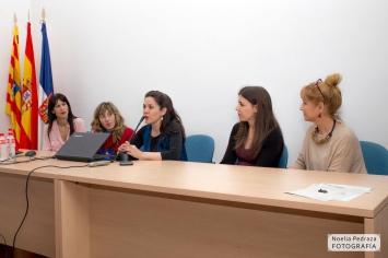 Mónica Callejo, Sadie Duarte, Carmen Gutiérrez, Ana Asión y Leonor Bruna