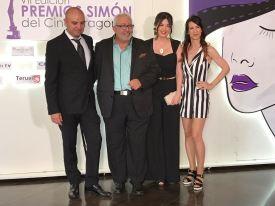 Director Jesús Carabias, actor Gabriel Latorre (Premio Simón de Honor 2018), actriz Ana Soro (nominada a mejor interpretación, actriz Mónica Callejo